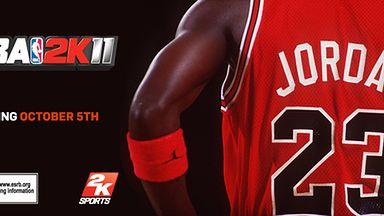 Michael Jordan na okładce NBA 2K11