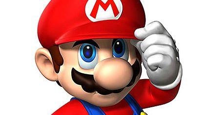 Mario na skrzypcach