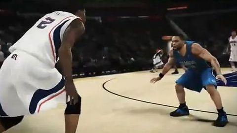 NBA 2K11 w ruchu wygląda tak, jak powinno