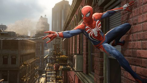 Spider-Man, Spiiideeer-Man... na PS4. Od Insomniac Games!