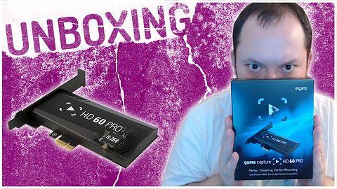 Unboxing PL Elgato Game Capture HD60 Pro