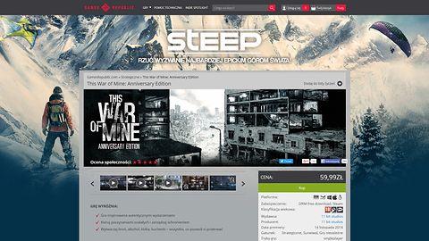 Ze Steamem nie wygrasz. 11 bit zamyka sklep GamesRepublic.com