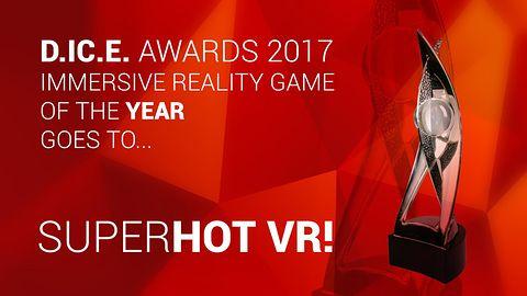 SuperHot VR jednym ze zwycięzców DICE Awards