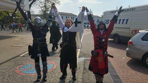 Wypchane po brzegi hale, masa cosplayu - Pyrkon 2017 w naszym obiektywie