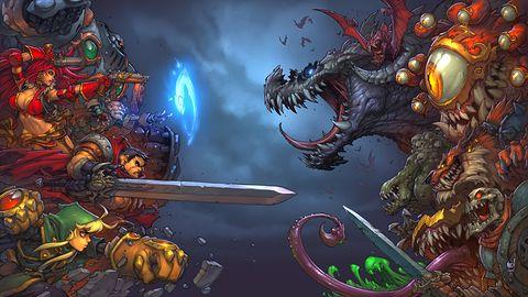 Battle Chasers: Nightwar - zapowiedź. Cicha woda brzegi rwie