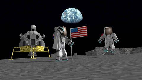 Nie wiecie, do kogo należy Księżyc? Spokojnie, Minecraft wam wytłumaczy