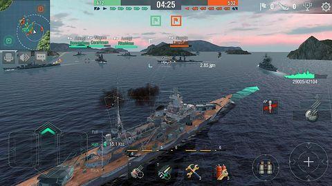 World of Warships Blitz bliskie zwodowania