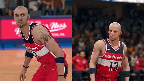 NBA 2K18 kontra NBA Live 18 - kto lepiej wyczarował Gortata i spółkę? [galeria]