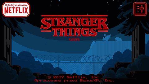 Netflix robi gry - możemy już zagrać w Stranger Things: The Game