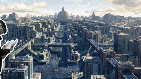 Architektura w Wolfestein: The New Order - Wirtualny, niemiecki rozmach