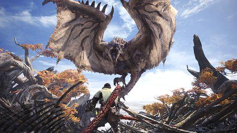 Monster Hunter World - recenzja. Na imprezę czasem warto się spóźnić