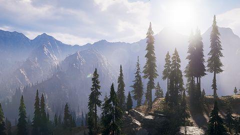 Architektura w Far Cry 5 - życie preppersa w górach Whitetail