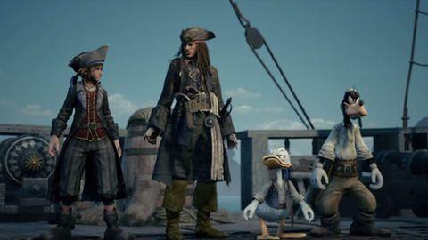 Johnny Depp i Keira Knightley w… Kingdom Hearts III