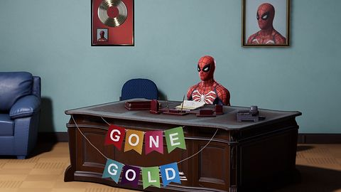 Spider-Man uzyskał status Gold