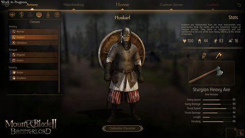 Mount & Blade II: Bannerlord i system klas w multi