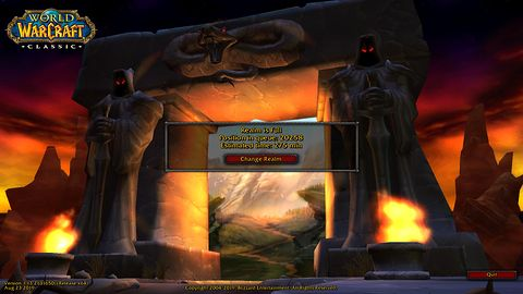 World of Warcraft Classic z problemami na start