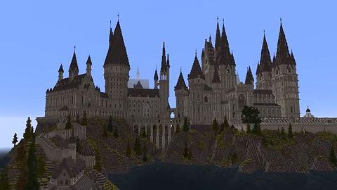 RPG w świecie Harry'ego Pottera wewnątrz Minecrafta
