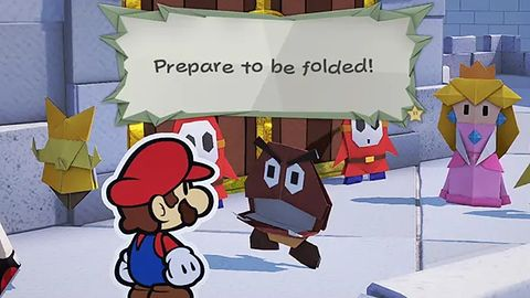 Super Mario wraca! Tym razem w wersji przyjaznej środowisku: z papieru