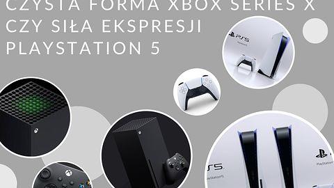 Playstation 5 kontra Xbox Series X - która jest ładniejsza?