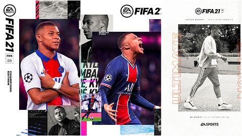Kylian Mbappe twarzą FIFA 21. Do wyboru trzy okładki
