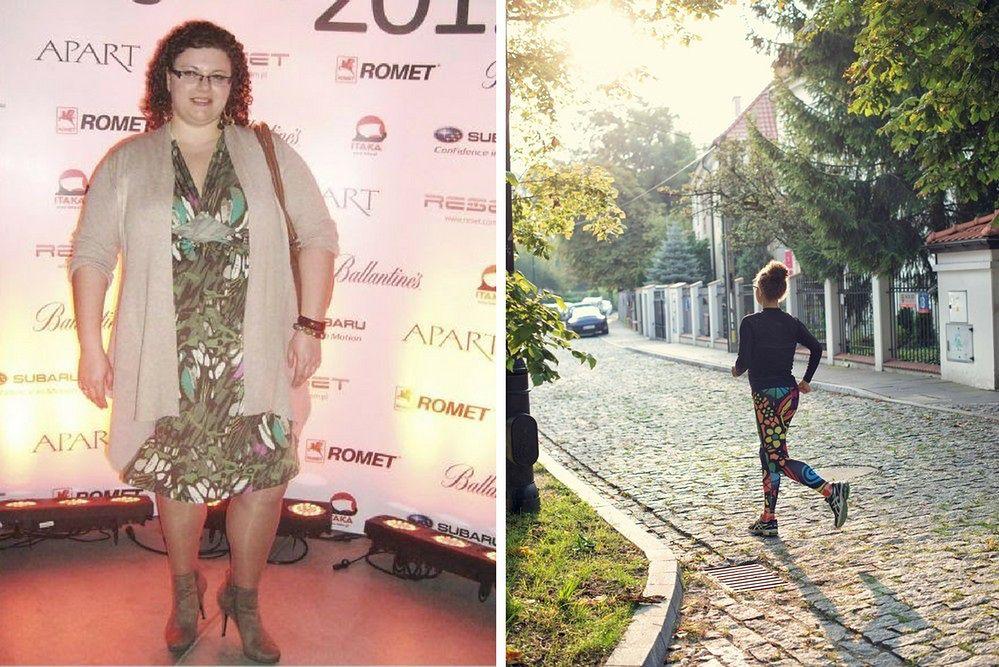 Danuta Awolusi w 2011 roku i dziś