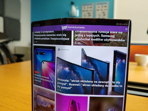 Mamy to! Składany Huawei Mate X w naszych rękach