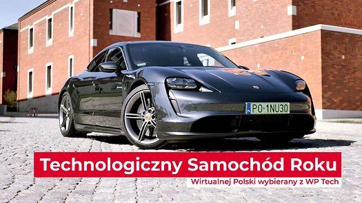 Technologiczny Samochód Roku 2020: Porsche Taycan