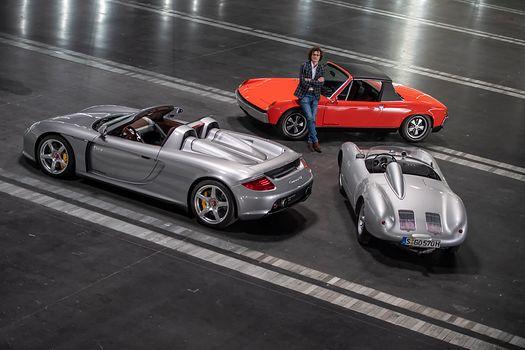 Miały lśnić na stoisku Porsche w Poznaniu. Carrera GT, 914/8 i 550 Spyder z bliska