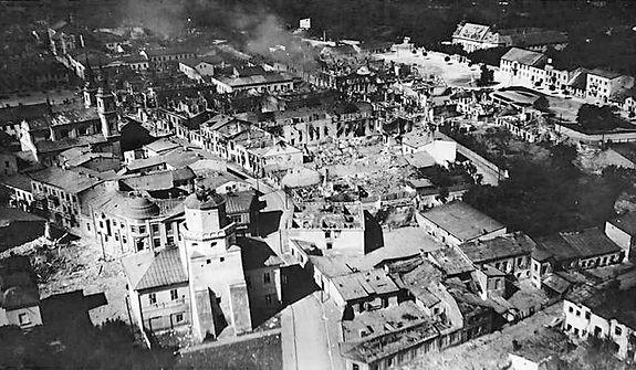 Wieluń, polska Guernica. Oba miasta zaatakował ten sam zbrodniarz