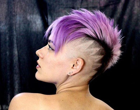 Wzorki Na Włosach Czyli Fryzury Damskie Z Hair Tatoo Wp