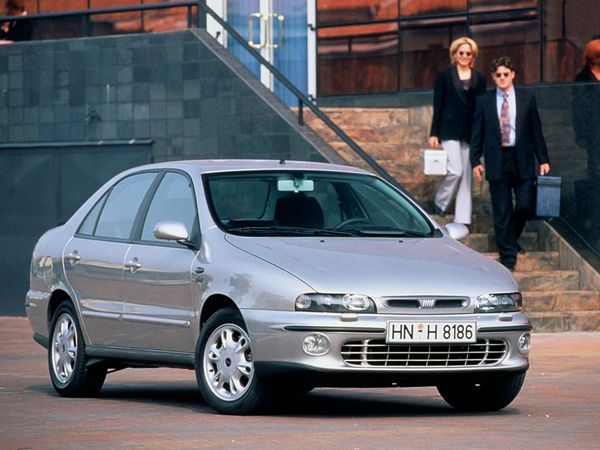 Fiat Marea - dane techniczne, spalanie, opinie, cena   Autokult.pl