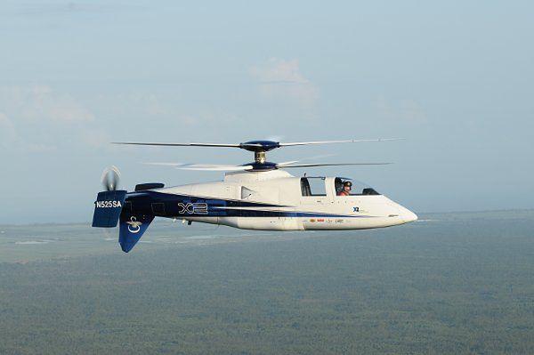 Najszybszy helikopter świata - Sikorsky X2