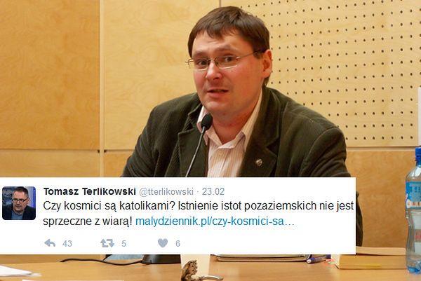 Terlikowski chce ewangelizować kosmitów