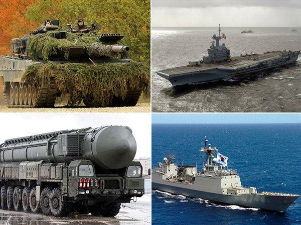 10 najpotężniejszych armii świata
