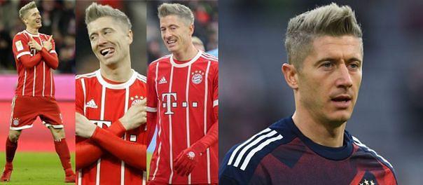 BLONDWŁOSY LEWANDOWSKI strzela dwa gole dla Bayernu (ZDJĘCIA)