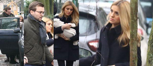 Kasia Tusk pokazała się z dzieckiem! Odwiedziła rodziców (ZDJĘCIA)