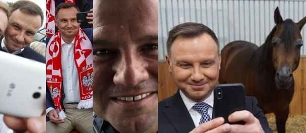 Andrzej Duda wrócił na Instagram! Mamy jego najlepsze selfie (ZDJĘCIA)