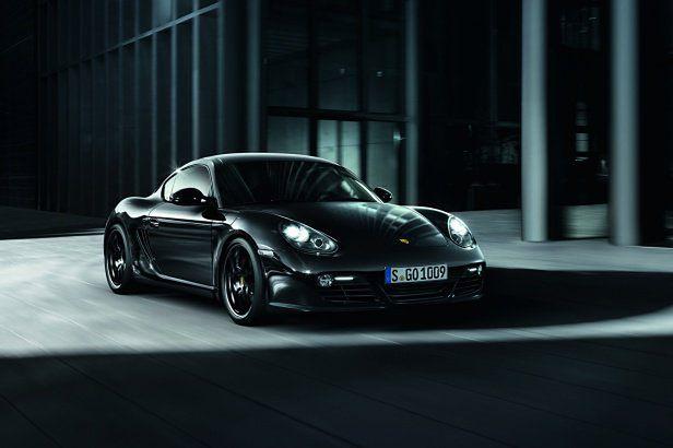 Kolejny członek mrocznej rodziny Porsche: Cayman S Black