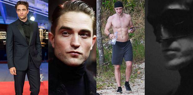 CIACHO TYGODNIA: Robert Pattinson grał już przystojnego czarodzieja i zakochanego wampira. Teraz wcieli się w rolę Batmana (ZDJĘCIA)