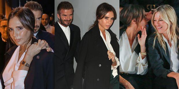 Eleganccy Victoria i David Beckhamowie zadają szyku podczas Paryskiego Tygodnia Mody (FOTO)