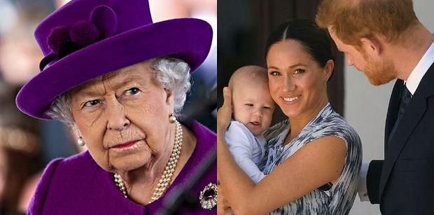"""Królowa Elżbieta II obawia się, że Harry i Meghan odetną Archiego od reszty rodziny? """"Byłaby bardzo zasmucona"""""""
