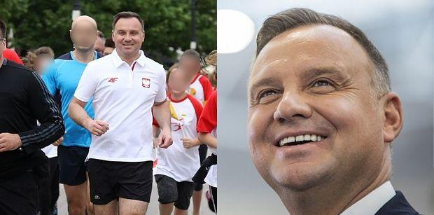 """Andrzej Duda zapowiada metamorfozę: """"Chciałbym ZESZCZUPLEĆ"""". Trzymacie kciuki?"""