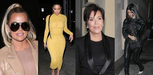 Odpicowane Kardashianki wychodzą na miasto. Która prezentowała się najlepiej? (ZDJĘCIA)