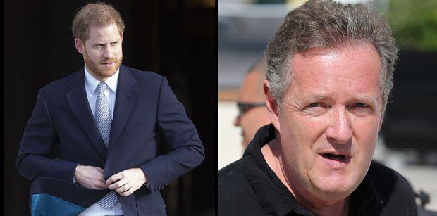 """Piers Morgan znów """"ciepło"""" o Harrym: """"MA TUPET!"""""""