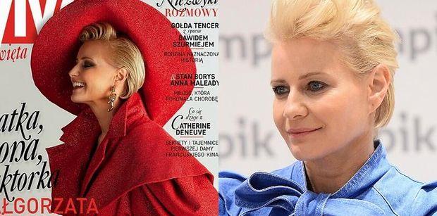 """Małgorzata Kożuchowska wspomina trudy macierzyństwa: """"Ekipa czekała, dziecko płakało, a GRAĆ MUSIAŁAM..."""""""