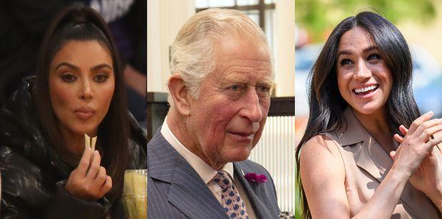 Książę Karol porównał Meghan Markle do... KIM KARDASHIAN