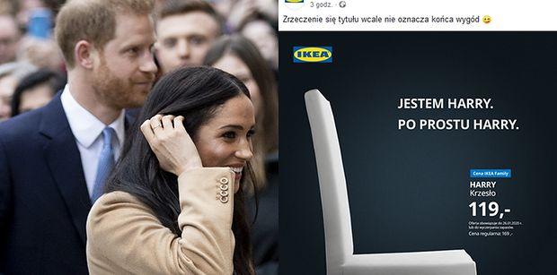 """IKEA żartuje z """"Megxitu"""": """"Zrzeczenie się tytułu wcale nie oznacza końca wygód"""""""