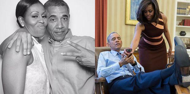 """Barack Obama rozpływa się nad Michelle, świętując jej 56. urodziny na Instagramie: """"Jesteś moją gwiazdą"""""""