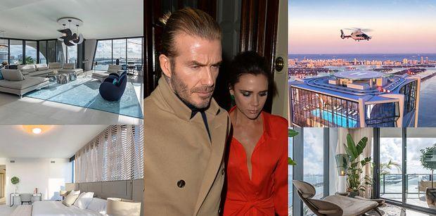 Nowe mieszkanie Davida i Victorii Beckhamów kosztowało 100 MILIONÓW ZŁOTYCH! Robi wrażenie? (ZDJĘCIA)
