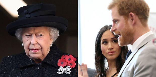 Królowa Elżbieta JEST WŚCIEKŁA na księcia Harry'ego i Meghan Markle. Ich zachcianki kosztowały podatników 12 MILIONÓW ZŁOTYCH